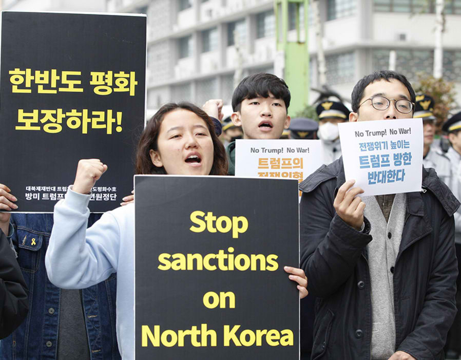 Stop Sanctions Against North Korea