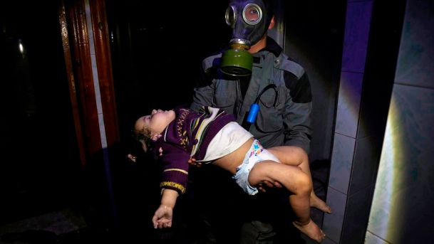 Chemical attack against children and their families