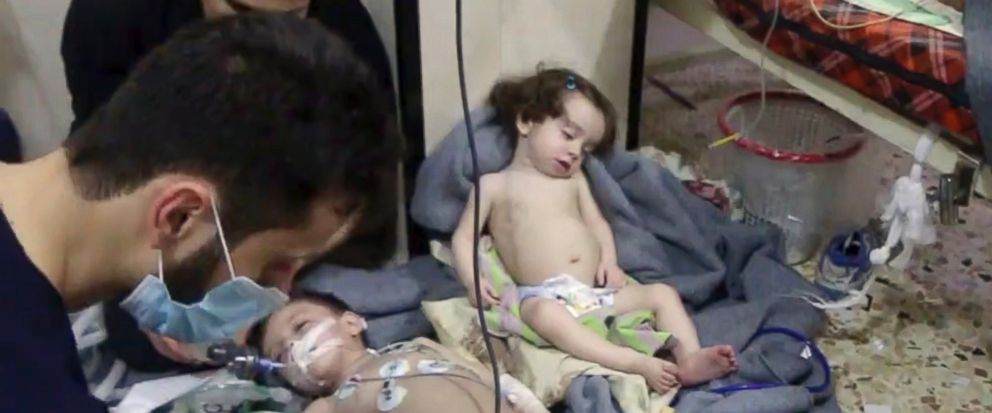How can you oppose destruction of Syria's Chemical Weapons?