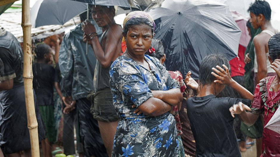 Rohingya Rape Pregnancy and Rain