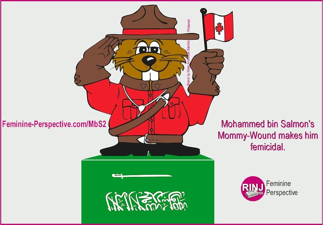 Mohammed bin Salmon Mommy-Wound makes him femicidal.
