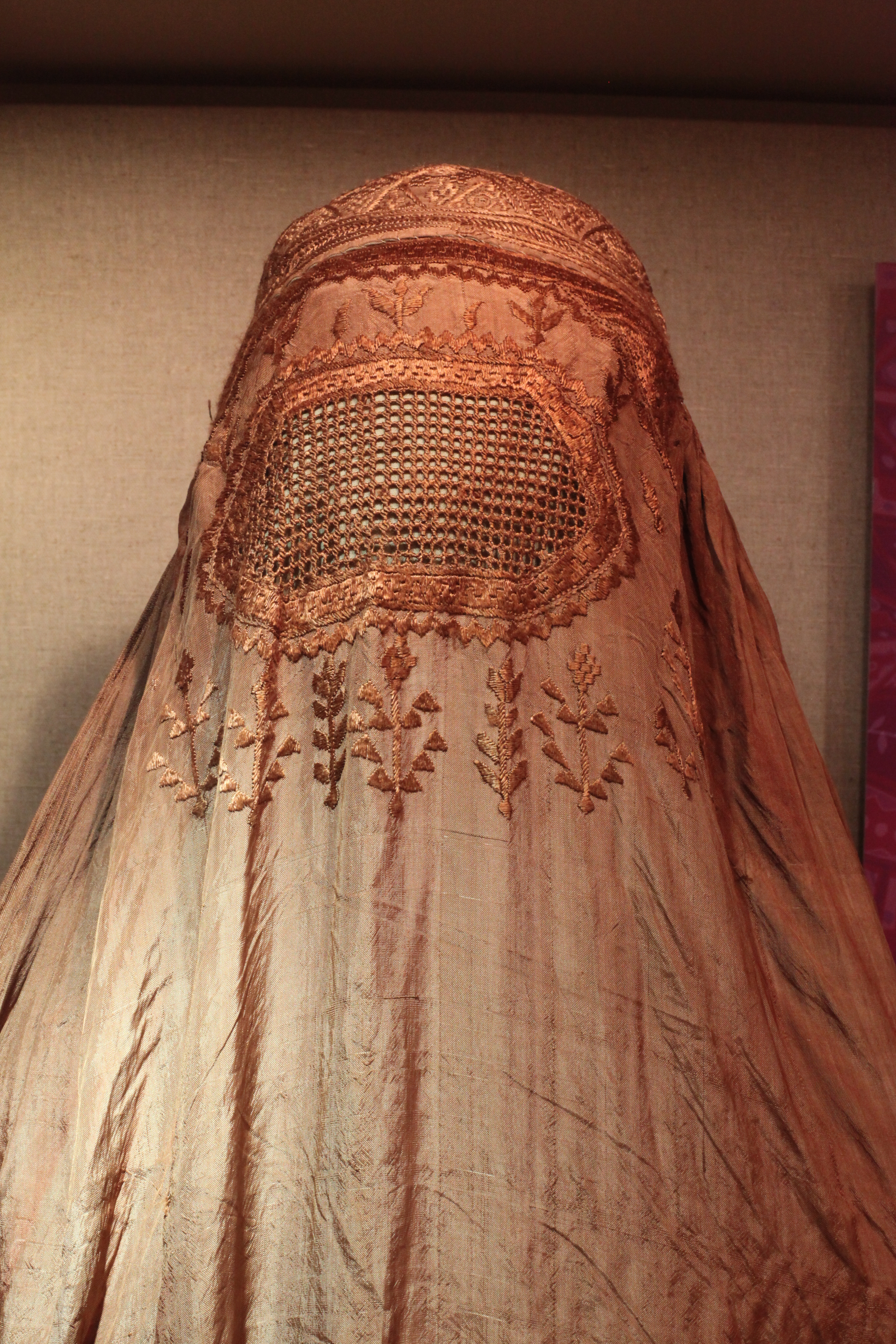 The full burqa.