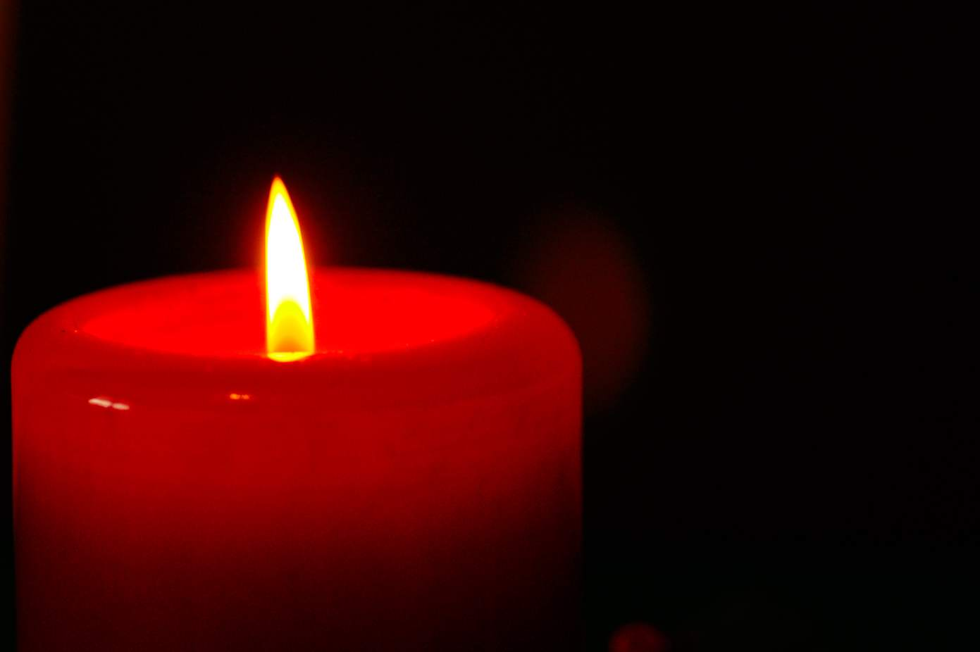 I light a candle and sob quietly in the near darkness for Dr. Ford and others.