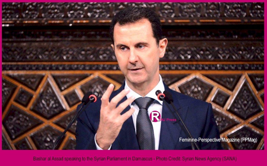 Syria's alleged War Criminal, Bashar al-Assad