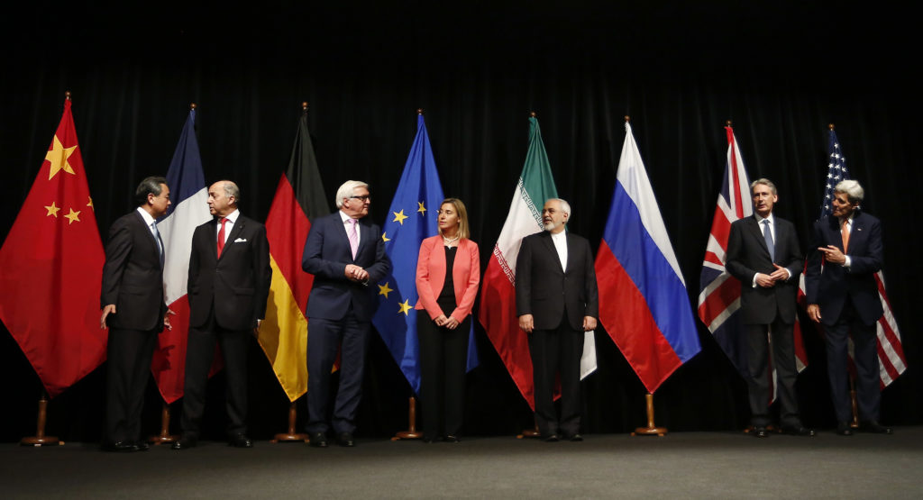 Iran nuclear deal: agreement in Vienna.