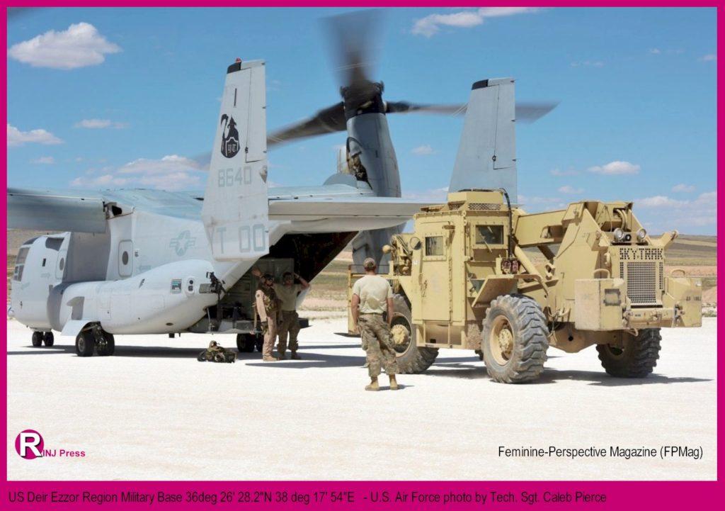 US Deir Ezzor Region Military Base 36deg 26' 28.2
