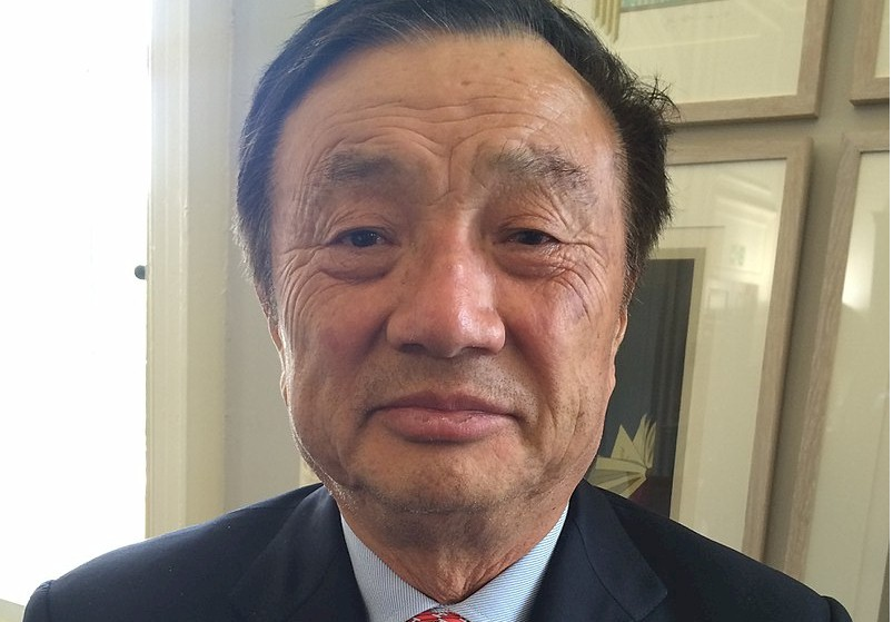 America's alleged enemy, Ren Zhengfei , whom it claims is associated with the Chinese spy agency and best friends with Xi Jinping.