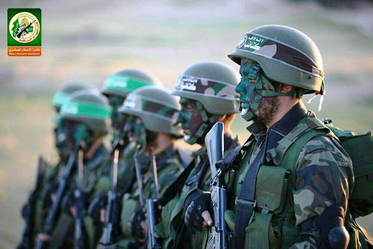 Hamas al-Qassam Military Brigade prepares for war.