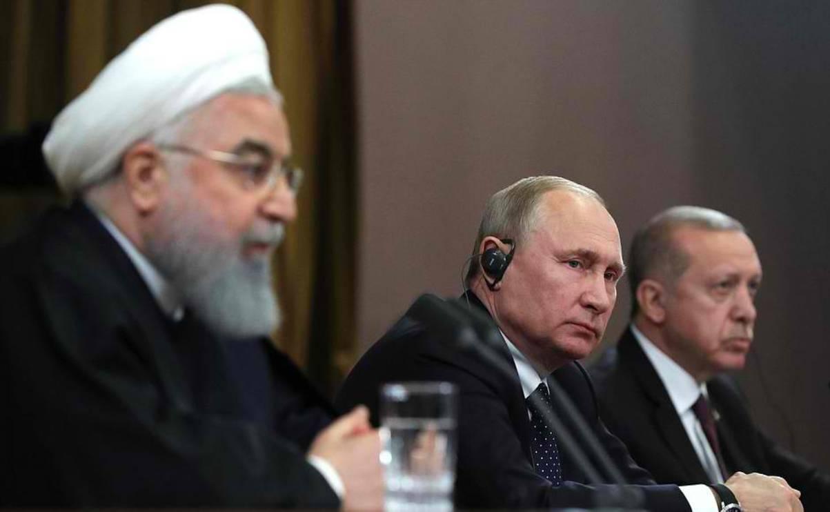 Trilateral Talks in Sochi, Russia - 14 February 2019