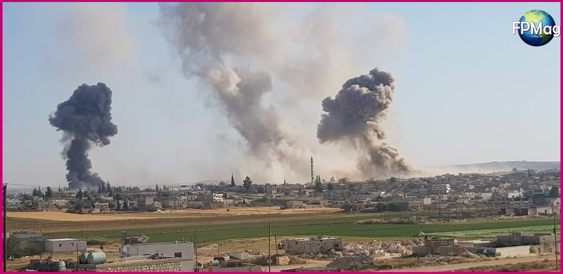 Idlib is being bombed to death.
