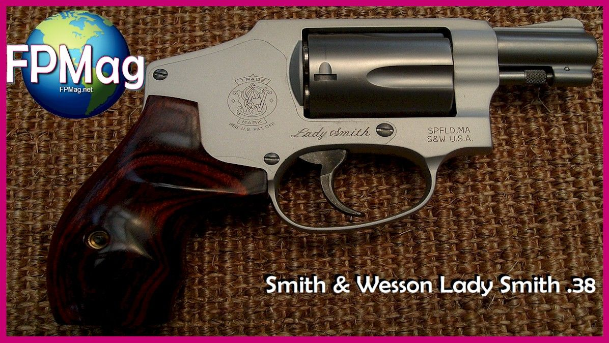 James Case from Philadelphia, Mississippi, U.S.A. - Smith & Wesson Lady Smith .38 My wife's gun. Double Action Revolver. Made in the U.S.A.