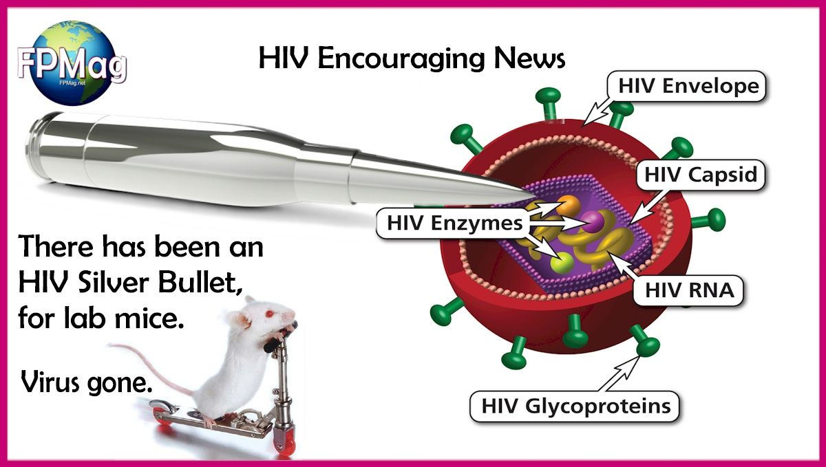 A silver Bullet for HIV in Lab Mice