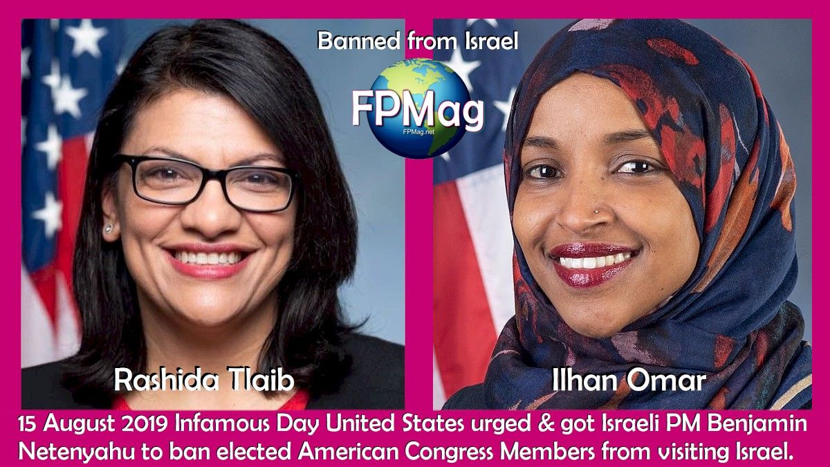 Two Congressional representatives of a large number of American people were planning a fact-finding trip to Israel and the Palestinian territories. They wanted to learn truth.