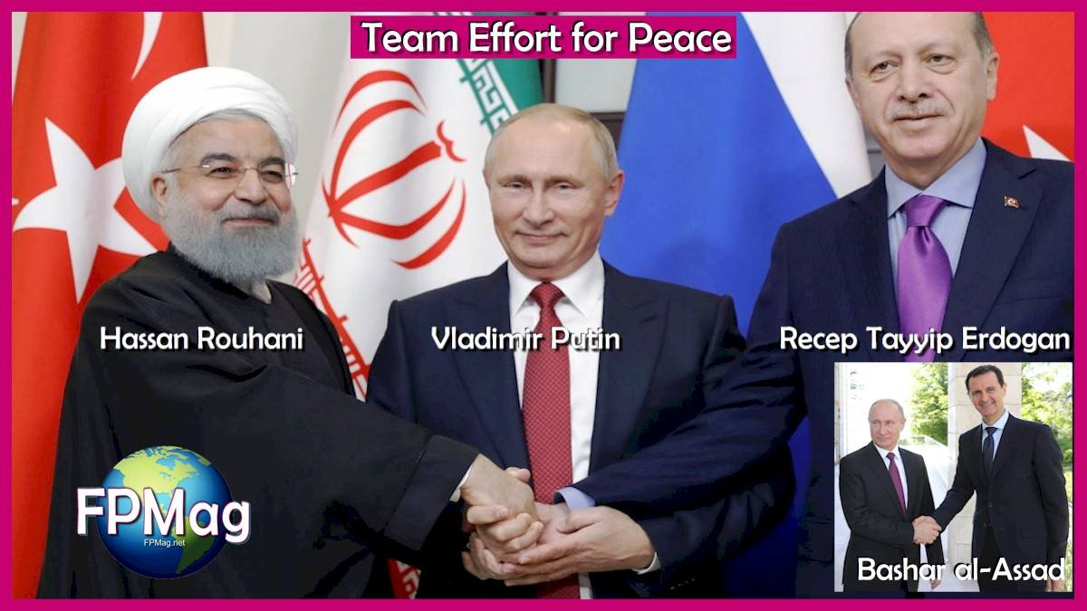 Team Effort for Peace in Syria