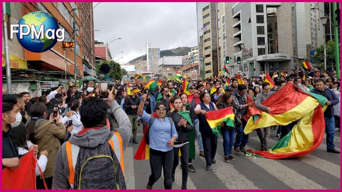 25-10-2019 La Paz citizen demonstration