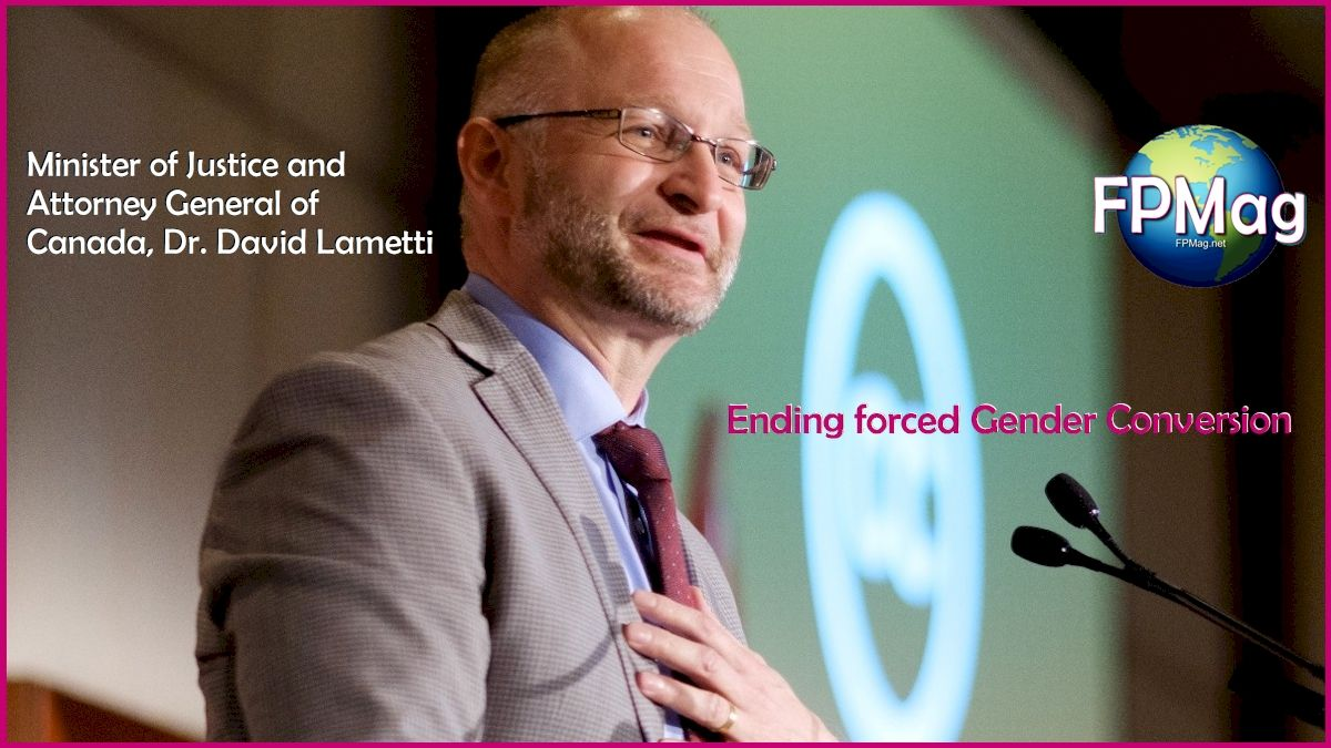 Minister of Justice and Attorney General of Canada, Dr. David Lametti