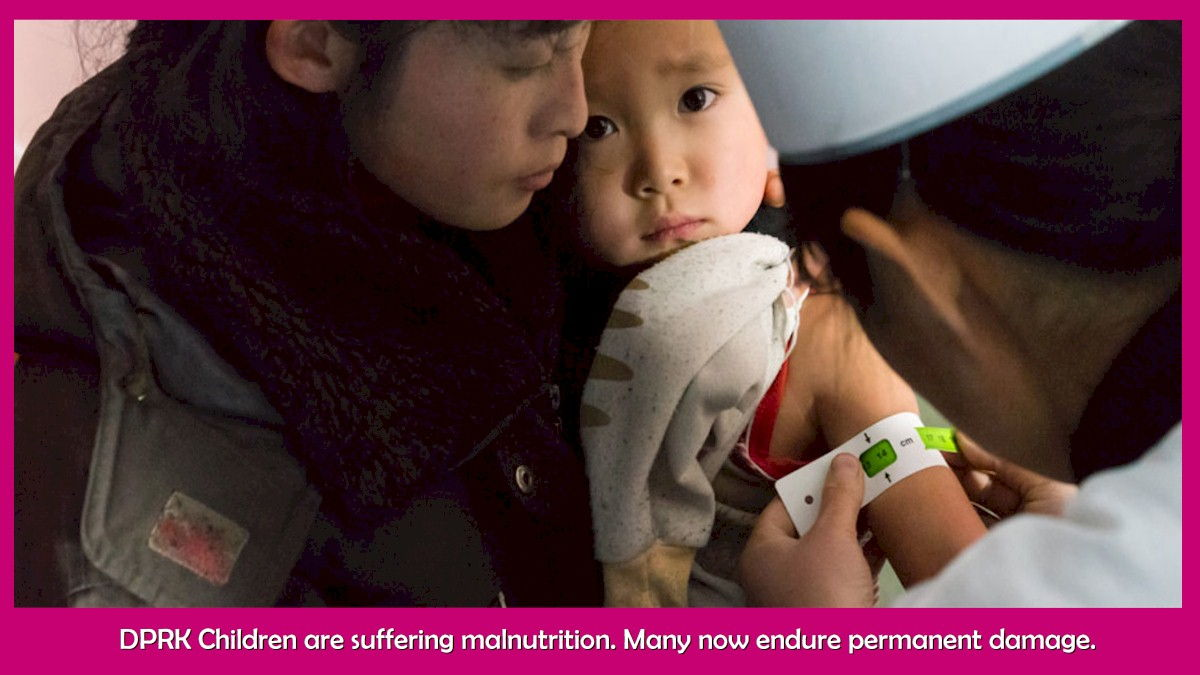 Hunger and malnutrition impact millions in the DPRK