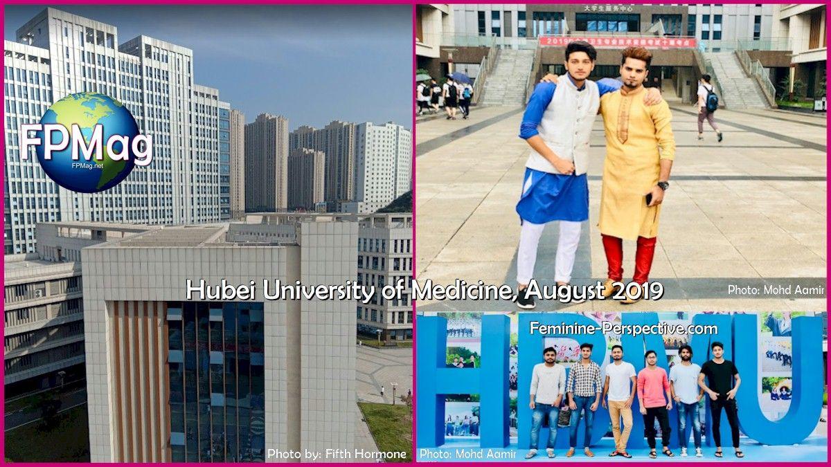 Hubei University of Medicine, August 2019