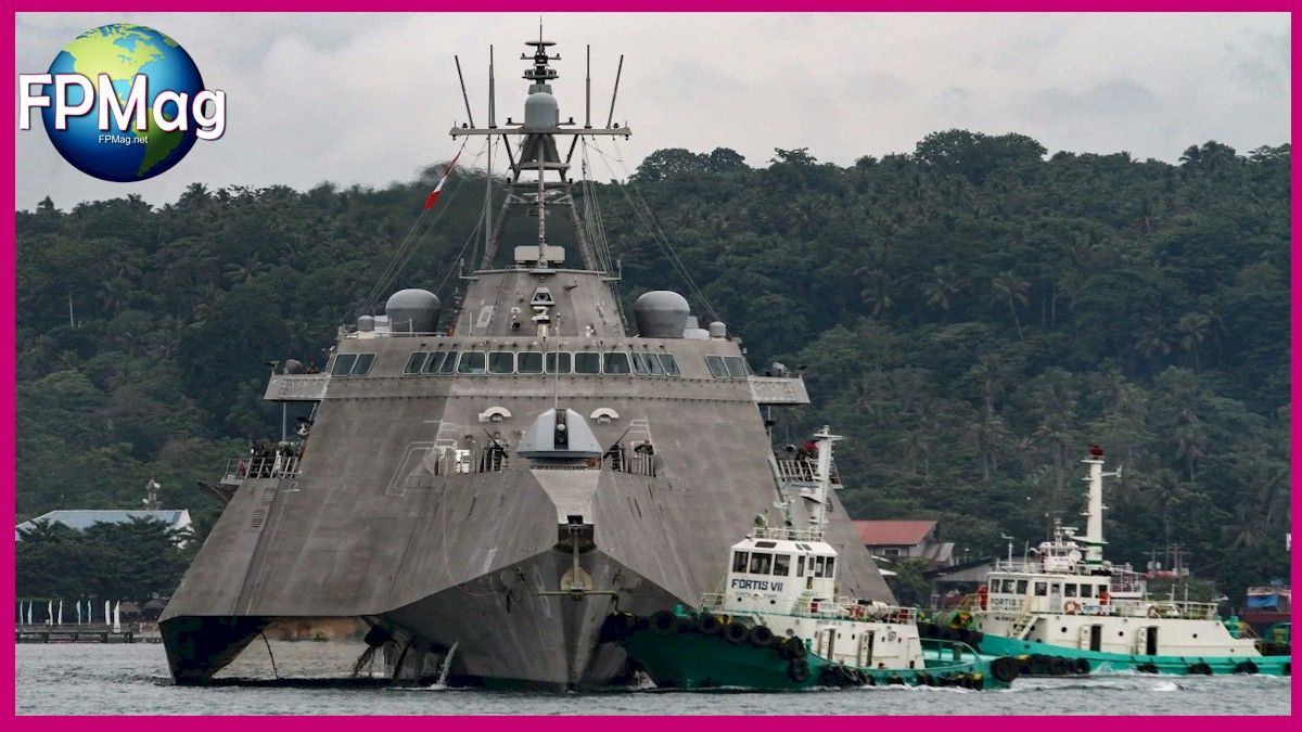 China says USS Montgomery harboured 'evil intentions' on Lunar New Year voyage into contested waters US 7th Fleet says warship challenged restrictions imposed by China, Vietnam and Taiwan