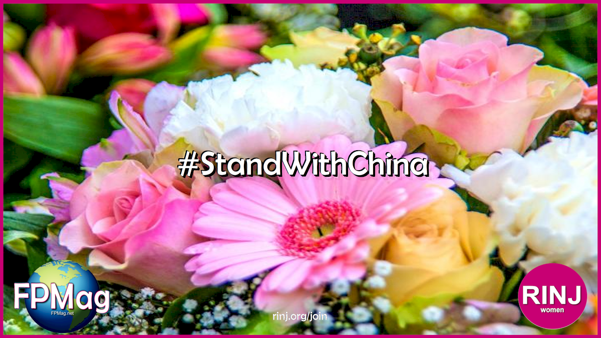 """""""Our Chinese sisters and brothers are more in our hearts than ever, says Rosa Yamamoto"""