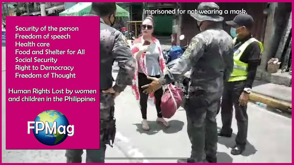Human Rights Lost by women and children in the Philippines